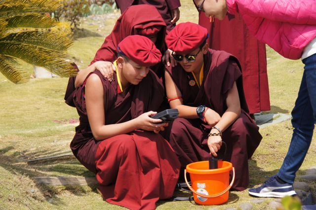 Water Quality Montioring with Drukpa nuns.