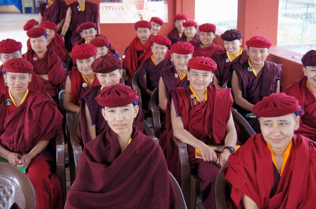 nuns-at-trainin