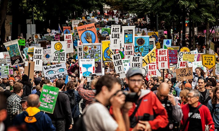 Climate March, Rick Rapport