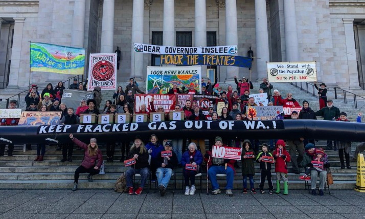 power past fracked gas rally, 2019.02.21