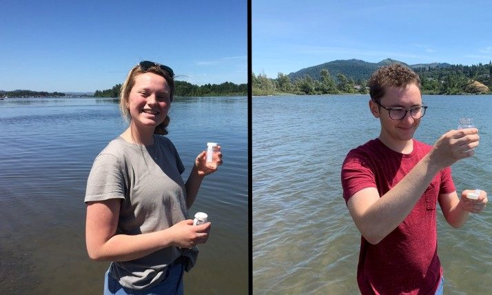 H2O Heroes, Water Quality Interns