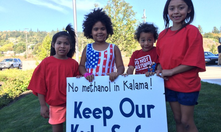 Kids Stand up to Methanol