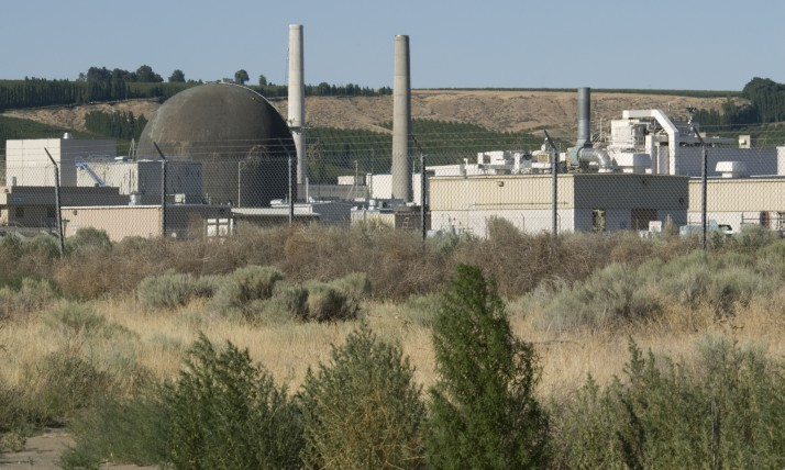 US: Washington, Columbia River Basin, Richland, Hanford Nuclear Site, Area 300 (Fabrication, Examination and Development Laboratory and Chemical Waste Storage