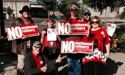 Kalama Washington residents against methanol