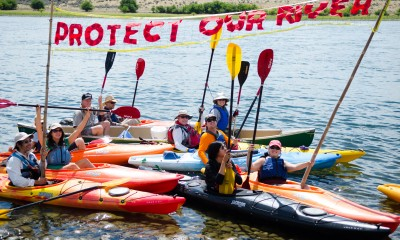 Riverkeeper paddle trip on the Hanford Reach, 2015