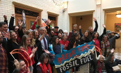 Portland Fossil Fuel Resolution press conference