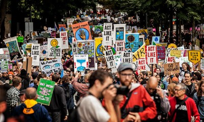 Climate Strike, Portland, Oregon photo by Rick Rappaport