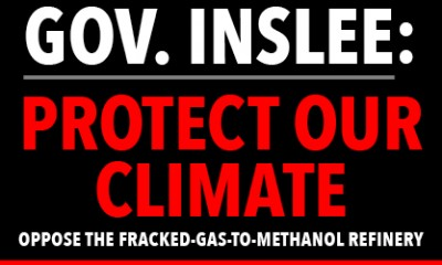 Gov. Inslee, protect our climate